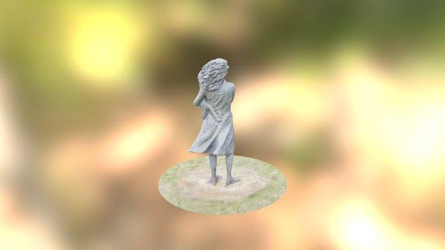 Aboriginal Family (woman) 3D Model