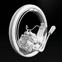 Monowheel 3D Model