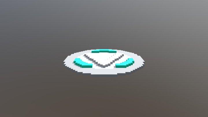 Fortnite V-Bucks 3D Model