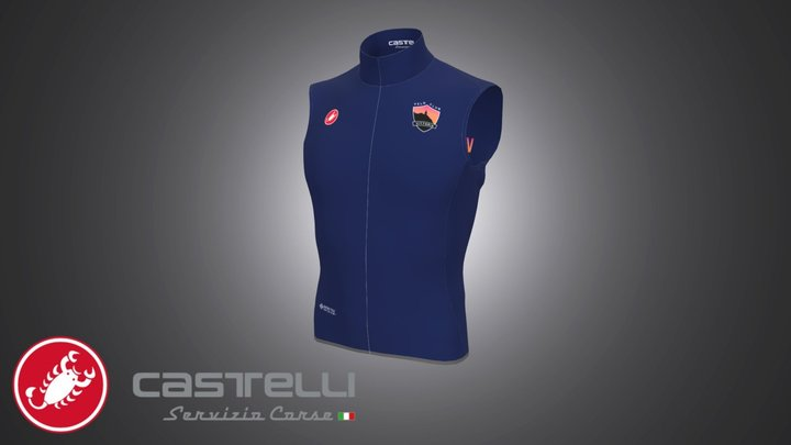 SC20174_VC VITTORIA_4310430 WINDSTOPPER VEST 3D Model