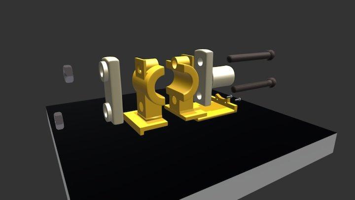 MODELO DE CHUMACEIRA 3D Model