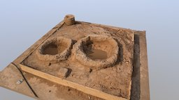 2017 Tulsa Raft Race Sand Sculptures: Abstract 3D Model