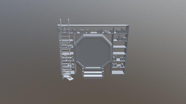 Portal Shelf 3D Model