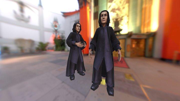 Severus Snape - Hogwarts 3D Model