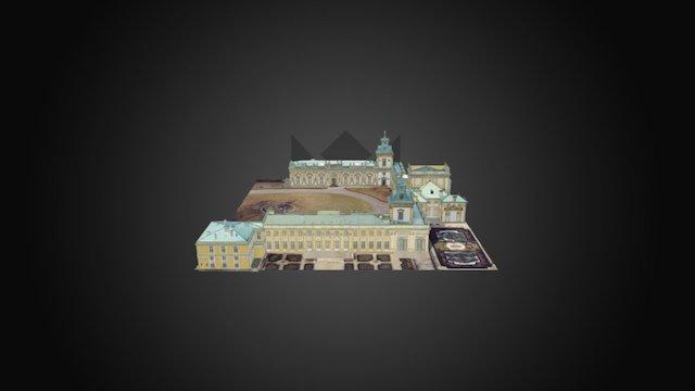 Pałac w Wilanowie 3D Model