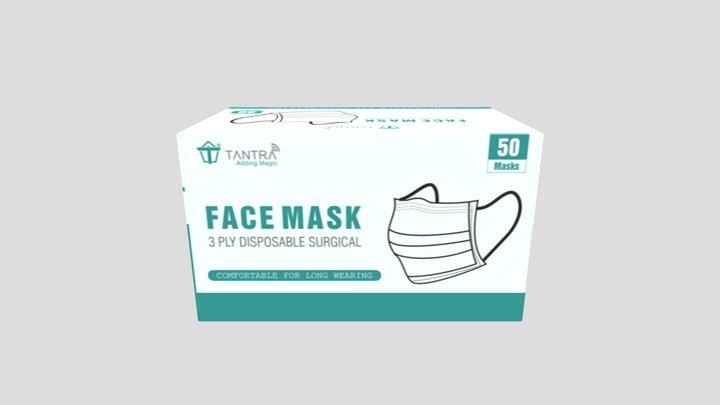 Tantra Mask Box 3D Model