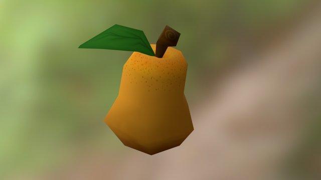 Juicy Pear 3D Model