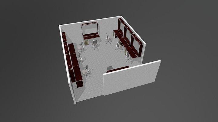 Floor Plan KMP MKI 3D Model