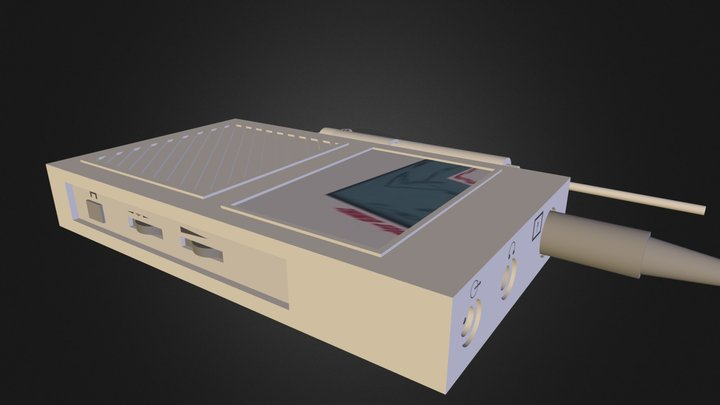Doppler Vascular 8MHz (s/cable) 3D Model