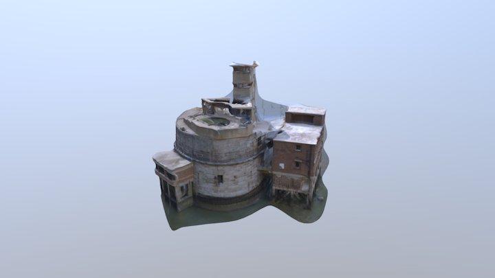 Grain Tower 3D Model V3 3D Model