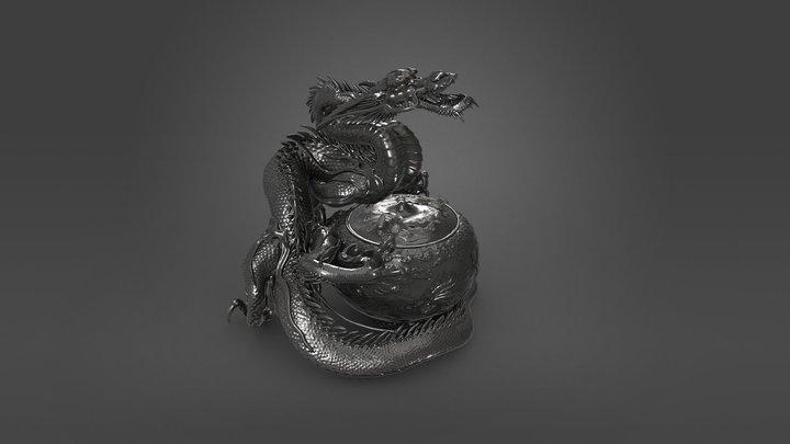 Dragon incense burner 3D Model