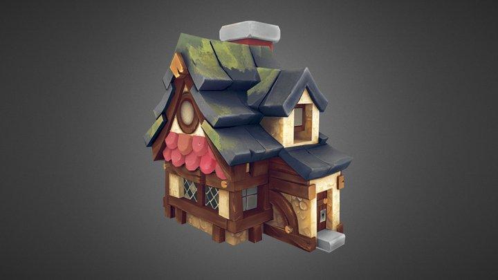 LowPoly_House 3D Model