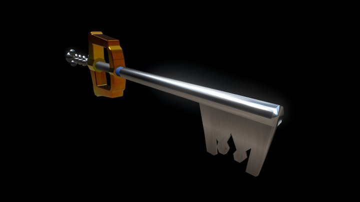 Kingdom Key2 3D Model