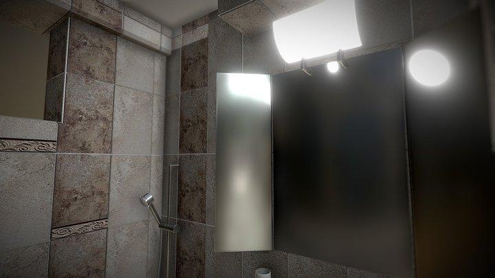 Bathroom - Project 3 3D Model
