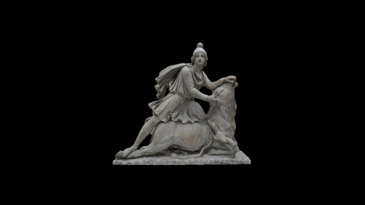 Mithras slaying the bull 3D Model