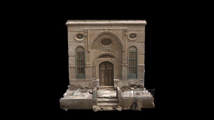 Beit Jokhdar Facade. 3D Model