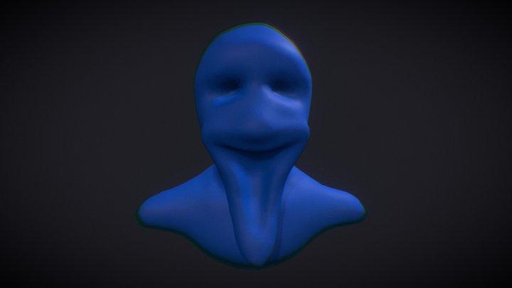 Spooky Smile 3D Model