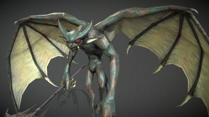 Bat_monster 3D Model