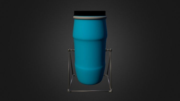 #3_Komposter 3D Model