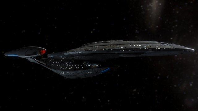 Polaris Class (Refit) 3D Model