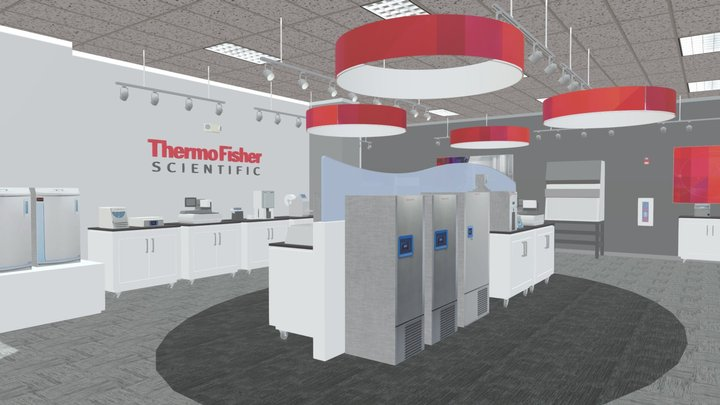 Thermo Fisher Asheville Showroom 3D Model