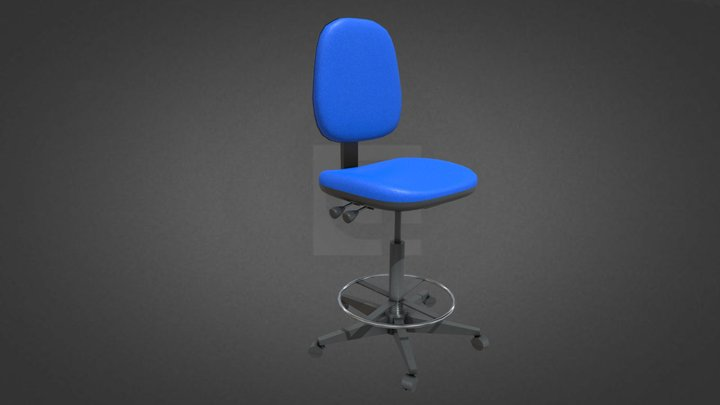 Draughtmans Chair Hire 3D Model