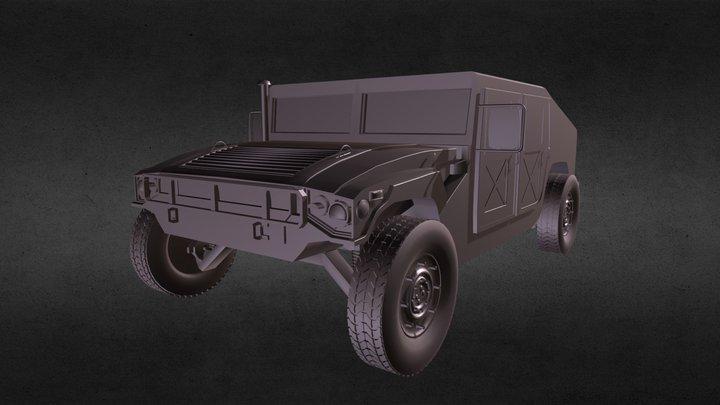 Humvee (HMMWV) 3D Model