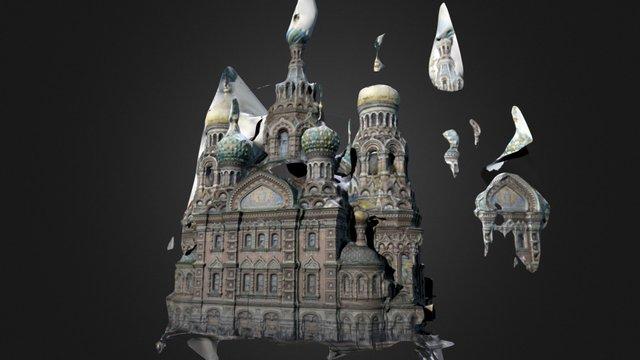 Virtual Saint Petersburg 3D Model