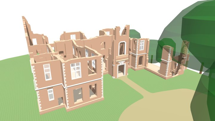 Houghton House (Existing) - 3D Building Model 3D Model