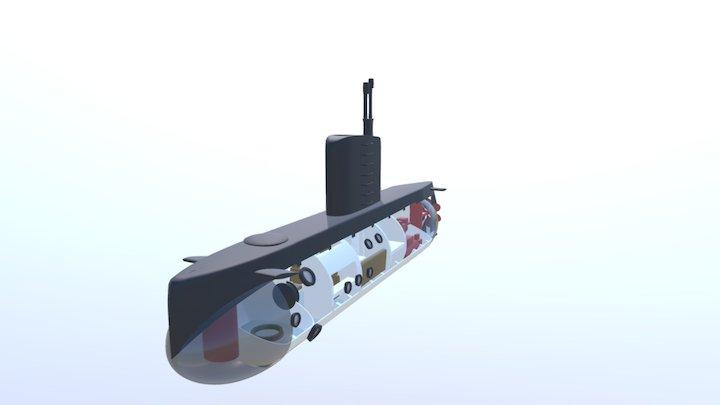 UC3 Nautilus 3D Model