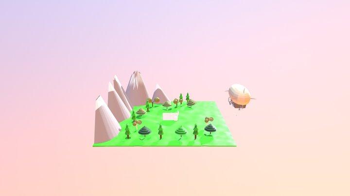 Percy GuyCharly - projet animation multimedia 3D Model