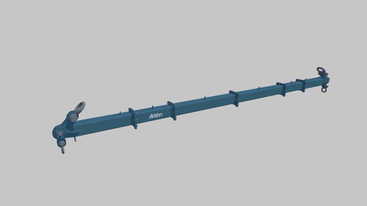 Axzion Vario-Beam Mountable modular beams 3D Model
