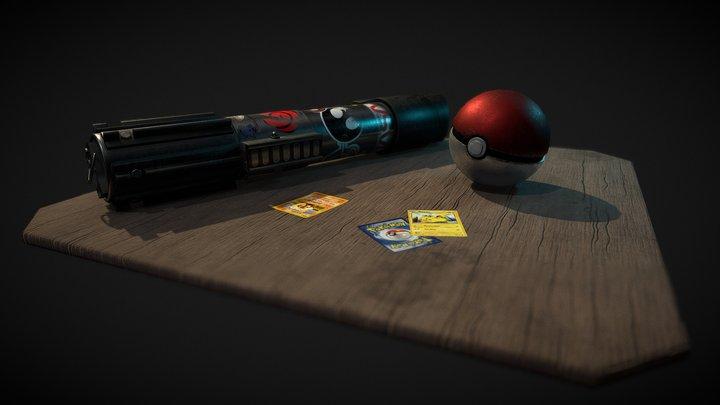 Geek Scene 3D Model