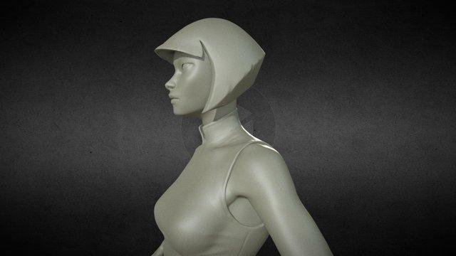 Kaeru 3D Model