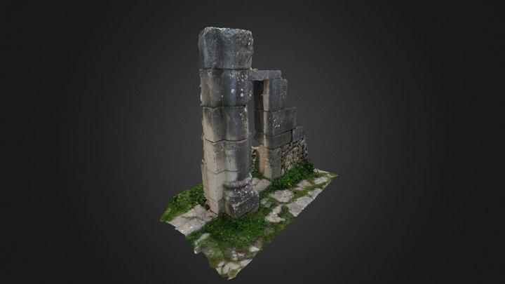 Acceso a vivienda (Volubilis) 3D Model