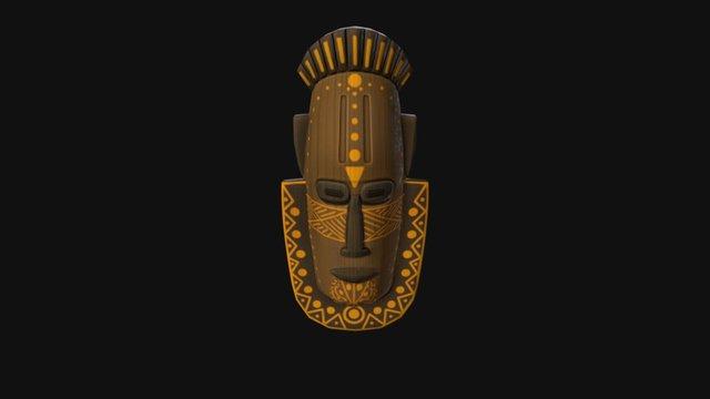 African Furniture- Mask 1 3D Model