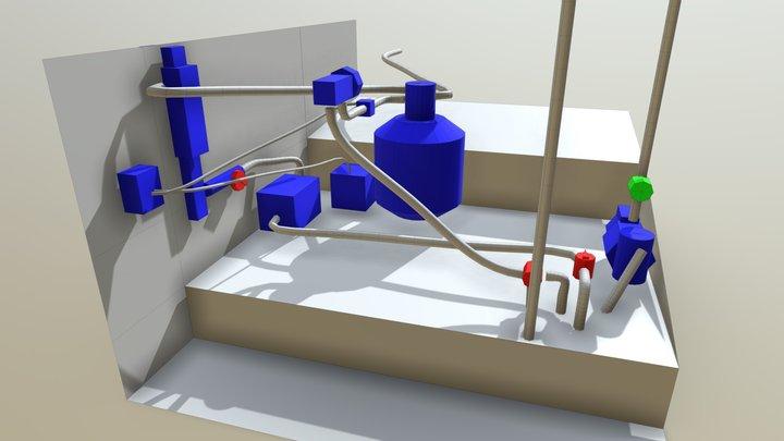 Pool Parts Original 3D Model