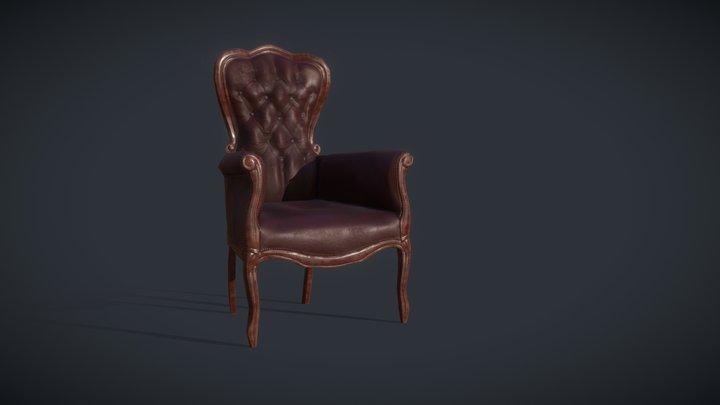 Victorian Armchair 3D Model
