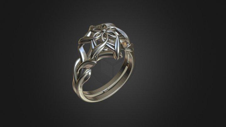 Nenia Ring, Galadriel's Ring 3D Model