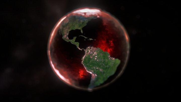 Blood Earth 3D Model