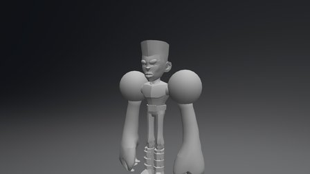 Xavier- Rough First Pass 3D Model