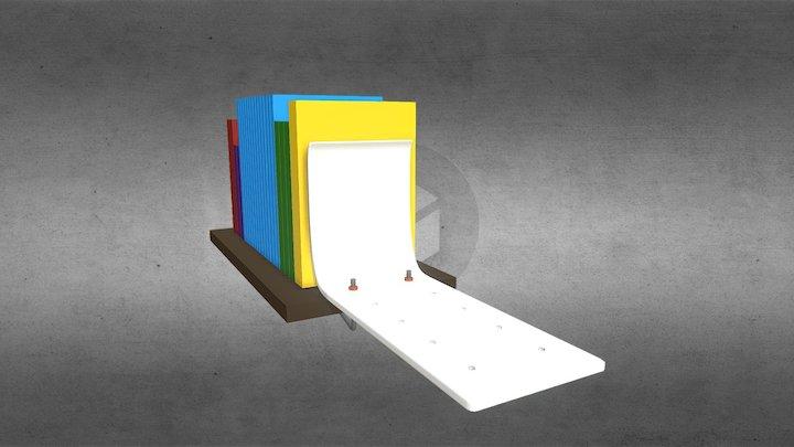 Pinza estante 3D Model