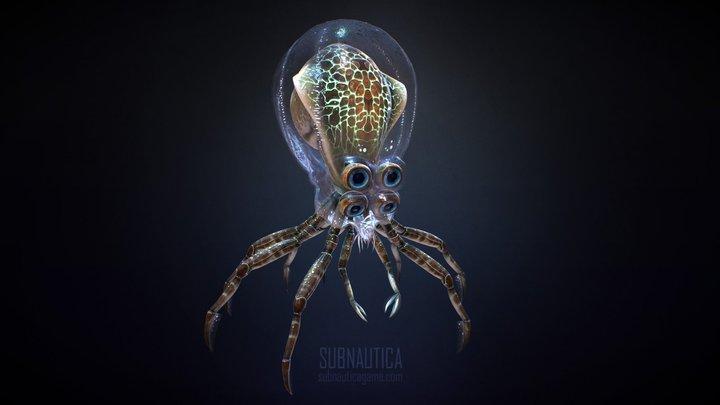 Crabsquid 3D Model