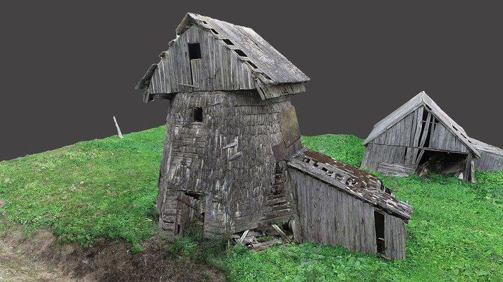 Sovaičiai windmill 3D Model