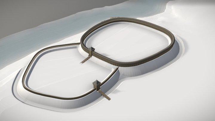 HIURHEV (Гюргев) XI-XIII c. 3D Model