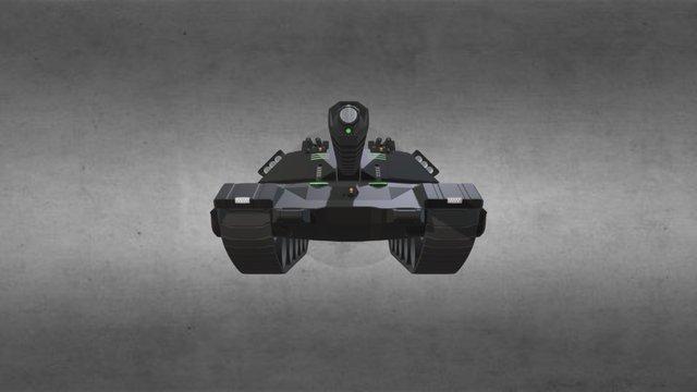TBT-77G2 ATLAS Tank 3D Model