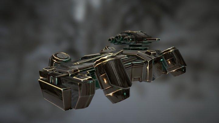 SHIPTEST 3D Model