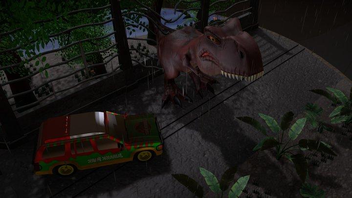 Jurassic Park 3D Model