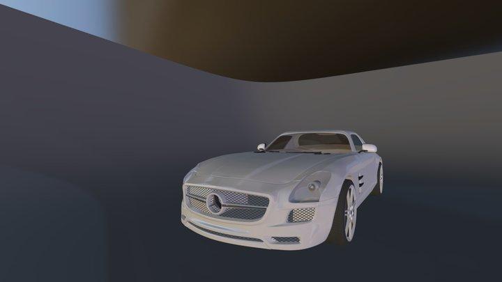 Mercedes SLS AMG Coupe 3D Model