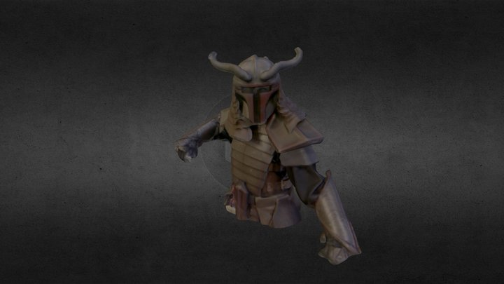 Samurai Sith 3D Model